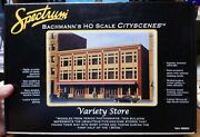 Bachmann Spectrum 88004 Variety Store Kit New In Open Box Sealed Parts Bag Ho