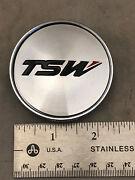 Tsw Wheels Machined Chrome Wheel Rim Hub Cover Center Cap C-310-1 5x114.3