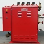 Used Pacific Steam Boiler W/ 4 New Silver Star Irons Se-2000