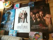 3 X Spanish Cinema Posters Fierce Creatures The Saint The Man In The Iron Mask