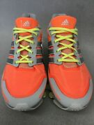 Adidas D66233 Womenand039s Springblade W Running Shoe Orange/silver Size 10 Us Br44