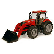 Case Ih 116 50cm Big Farm Agriculture Tractor W/ Loader Kids Diecast Toys Red