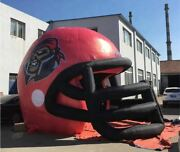 Inflatable Commercial Event Tailgating Custom School Football Helmet Tent New