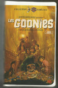The Goonies - Vintage Warner Clamshell Rare - Vhs French Ntsc 1985