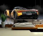 3d Concept Cars I52 Transport Wallpaper Mural Sefl-adhesive Removable Angelia