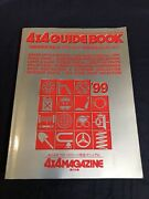 Jdm 4x4 Magazine And03999 Guide Book Suv Offroad Parts And Accessories Catalog Bible