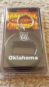 Lot Of 24 New Oklahoma Route 66 Key Chains And Beverage Bottle Openers - Free Sandh