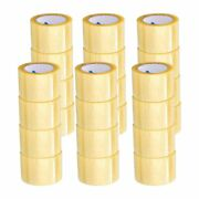 3x110 Yards Clear Acrylic Packing Shipping Tape Rolls 2 Mil 1800 Rls
