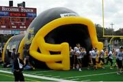 Inflatable Commercial Wedding Event Tailgating Beach Football Helmet Tunnel Tent
