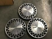 3pc Used Factory Plymouth Voyager Acclaim Hubcaps Wheel Covers 141990-93 472