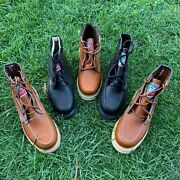 Botas De Trabajo Mens Work Boots Made In Mexico 100 Leather Welt Hand Made