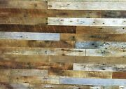 10 Sq.ft. 3 Wide Accent Wallboards From Reclaimed Barnwood Lumber