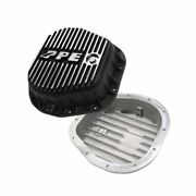 Ppe Brushed Heavy Duty Deep Aluminum Rear Differential Cover For Ford 1986-2017