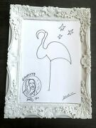 Flamingo One Line Picasso Danor Drawing Art Instagram Story Custommade Painting