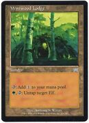 Wirewood Lodge X1 Magic Mtg Onslaught Near Mint/excellent Nm/ex