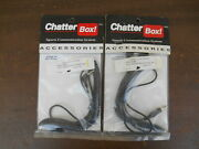 Nos Chatterbox Pair Of Audio Extension Cords 2 Fit 45/50/90/frs/x1/x2