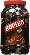 Kopiko Coffee Candy In Jar 800g 28.2oz 200 Peices Individually Wrapped