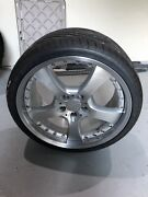 Mercedes E55 E63 19 Lorinser Lm5. Used Set Of 4 W/ New Tires