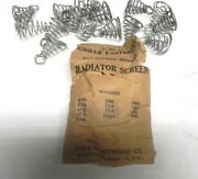 1930s And More Vintage Radiator Cover Grill Clips Durkee Atwood Very Good Nice
