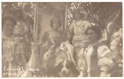 Rppc Pan-pacific Expo Groundbreaking Carnival Queen And Others San Diego 1911 B8