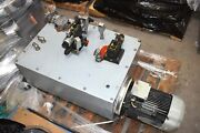 Parker Hydraulic Pumping Unit Variable-speed Pump Drive Part Pu-40653 Rev.