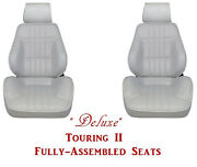 Standard Touring Ii Fully Assembled Seats 1977-79 Camaro - Your Choice Of Color