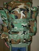 Us Military Large Field Pack W/ Internal Frame