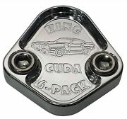 Fuel Pump Block Off Plate Fits Plymouth Cuda 440 6 Pack Engines F038