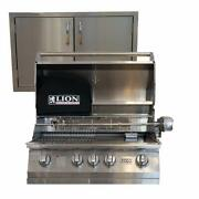 Lion Grills L75000-32 With Made In Usa 30 Double Door
