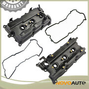 2 Valve Cover W/gasket Kit For 2002-2006 Nissan Murano Quest Maxima Altima 3.5l