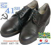 M78 Sz 41-sh Severohod Parade Officerand039s Leather Shoes Ussr Navy Soviet Army