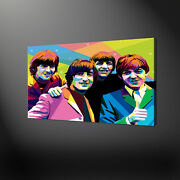 The Beatles Pop Art Canvas Print Picture Wall Art Free Uk Delivery