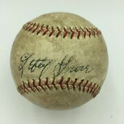 1937 Lefty Grove Playing Days Signed Baseball With Jsa Coa Boston Red Sox Auto