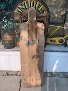Antique Primitive Wooden Ironing Board