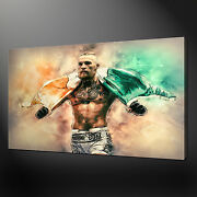 Conor Mcgregor Wall Art Canvas Print Picture Free Uk Delivery Variety Of Sizes
