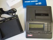 Lanier Vw260 Microcassette Transcriber With Foot Pedal, Headset And Warranty
