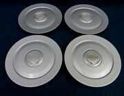 Chrysler 300 05-08 Silver Center Caps - Set Of 4 - Fits The 17and039 7 Spoke Wheel