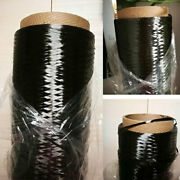 3k 3500mpa Carbon Fiber Tow Continuous Filament Yarn Thread Tape For Cloth