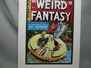 Weird Fantasy No 18 Color Poster Artist Illustrated Science Fiction Art