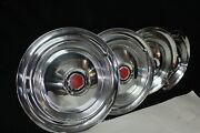 1955-56 Sr And 1958 Model 58l Packard And Packard Hawk - Hubcaps - Set Of 4 - Nos