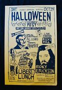 1st Annual Austin Halloween Festroky Erickson And Al Lewis The Munsters Poster
