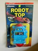 Vintage 1979 Nasta - Spinning Wind Up Robot Top Toy - Never Opened - Very Rare