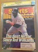 Cgc Ss 9.2 Sports Illustrated V87 4 Signed By Tony Gwynn Only Ss Copy