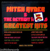 Mitch Ryder And The Detroit Wheels-fully Sealed Greatest Hits Album-no Bar Code
