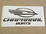 Chaparral Boats Banner With Stickers White Boat Decal You Get 2