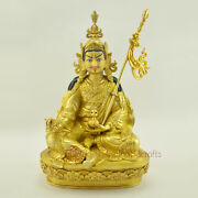 Hand Made Lost Wax Method Copper Alloy Guru Rinpoche Statue From Nepal