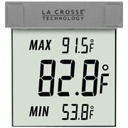 La Crosse Technology Outdoor Window Thermometer Ws-1025