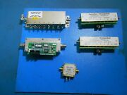 Jfw 50p-331, Weinschel 3200-2e-2, 3250t-63 Prog. Switchs And Lna-1620 Amp Lot Of 5