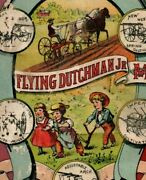 1880's Flying Dutchman Moline Plow Co. Western Spring Cultivator Fab P173