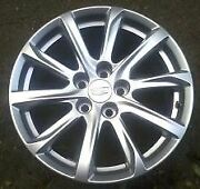 18and039 Cadillac Xt4 10 Spoke Argent Wheel 2019 4822 New